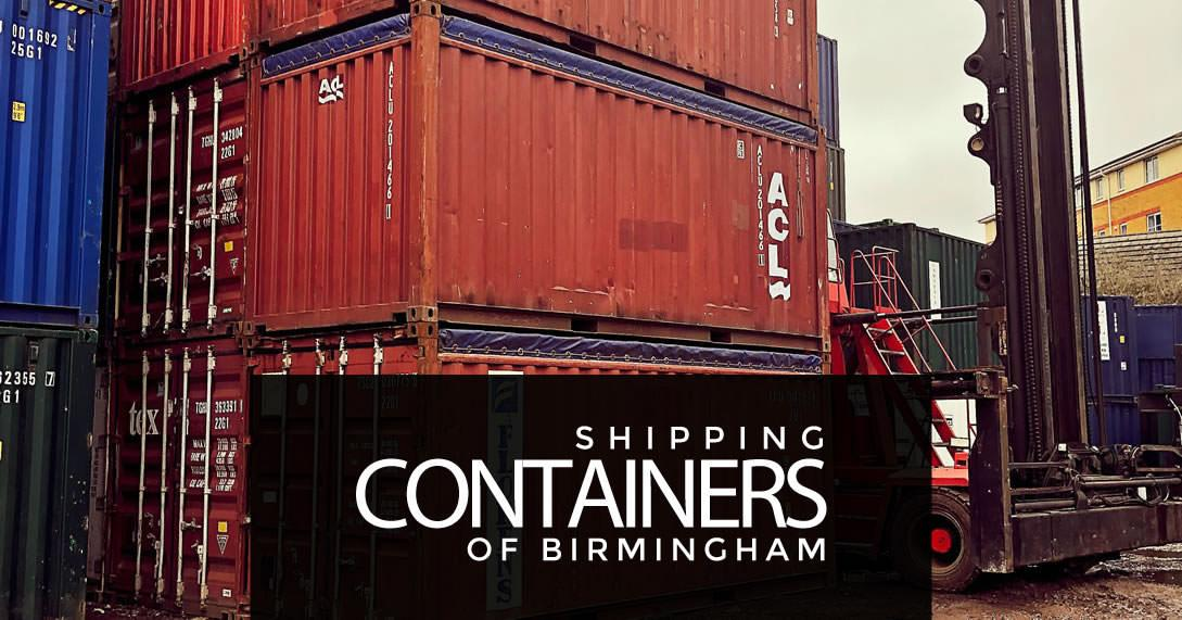 20ft Open top containers in Birmingham